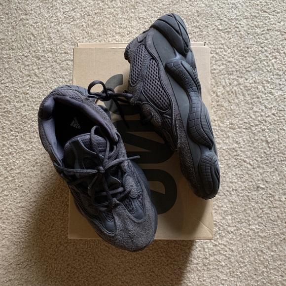 best authentic b9639 46780 Adidas yeezy 500 utility black size 7